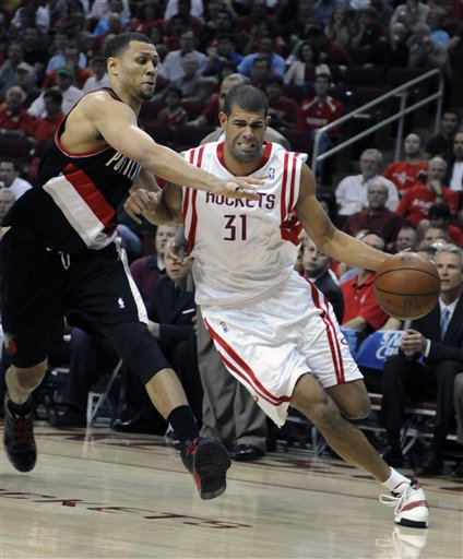 Trailblazers Rockets Basketball